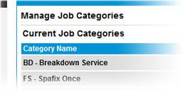 Job types tool