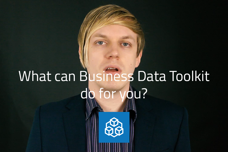 Video: What can the business data toolkit do for you? image